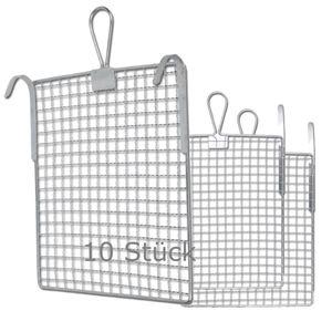 FRIESS 10 Stück Abstreifgitter Metall 26x30 cm variable Haken  F0072625 – Bild 1