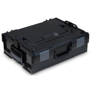 L-BOXX® 136 Bosch Sortimo schwarz leer BSS Werkzeugkoffer Transportbox black – Bild 1