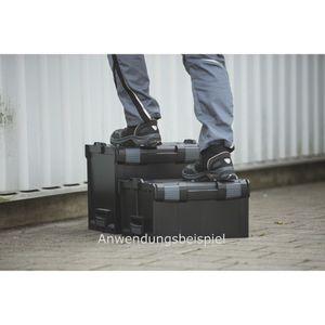L-BOXX® 238 Bosch Sortimo schwarz leer BSS Werkzeugkoffer Transportbox black – Bild 4