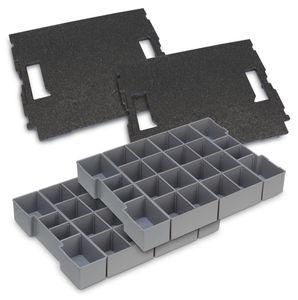 L-BOXX® 2 St. Deckeleinlage + 2 St. Boxeneinsatz K3 Bosch Sortimo für L-Boxx 102 – Bild 1