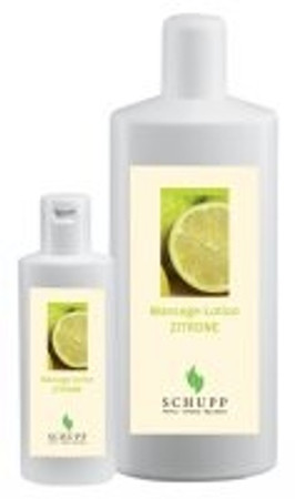 SCHUPP Massage-Lotion Zitrone