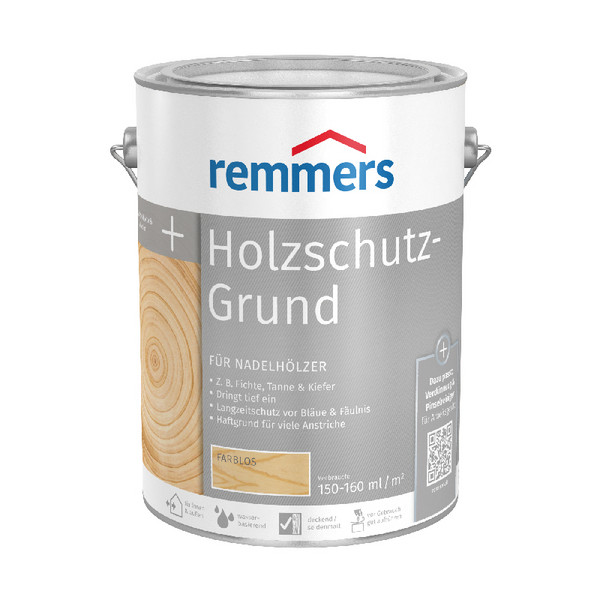 Remmers Holzschutz-Grund farblos 5 Liter