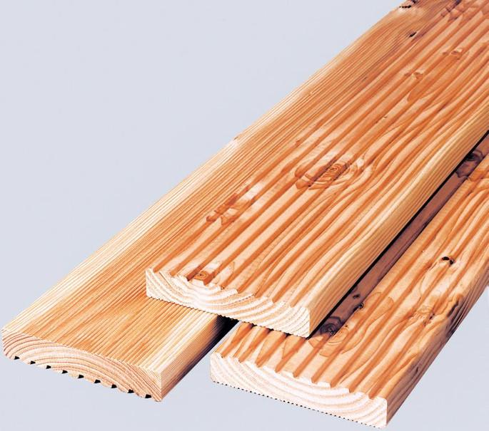 Terrassendielen Douglasie 2,8 x 14,5 x 300 cm (2. Wahl)
