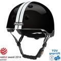 Melon Helm straight white black - urban activ Fahrradhelm, Skaterhelm, BMX Helm