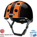 Melon Helm double orange black - urban activ Fahrradhelm, Skaterhelm, BMX Helm