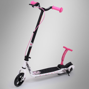 Pulse Kick and Go Scooter Nitrous weiss/pink