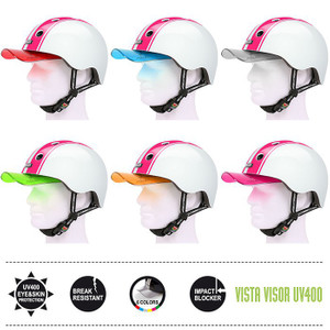 Melon Helm double pink white - Fahrradhelm, Skaterhelm, BMX Helm