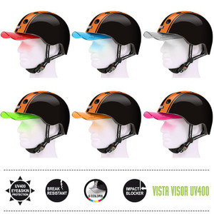 Melon Helm double orange black - Fahrradhelm, Skaterhelm, BMX Helm