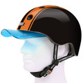 Melon Helm double orange black - Fahrradhelm, Skaterhelm, BMX Helm 03