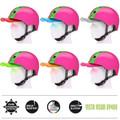 Melon Helm double green pink - Fahrradhelm, Skaterhelm, BMX Helm