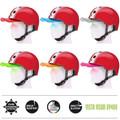 Melon Helm double white red - Fahrradhelm, Skaterhelm, BMX Helm