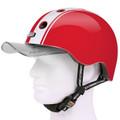 Melon Helm double white red - Fahrradhelm, Skaterhelm, BMX Helm 04