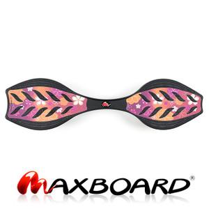 Maxboard purple flower - Waveboard mit rutschsicherer Grip-Oberfläche