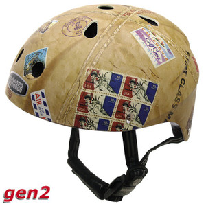 Nutcase Kinderhelm Air Mail matt (magnet) - Street Little Nutty Kinder Helm