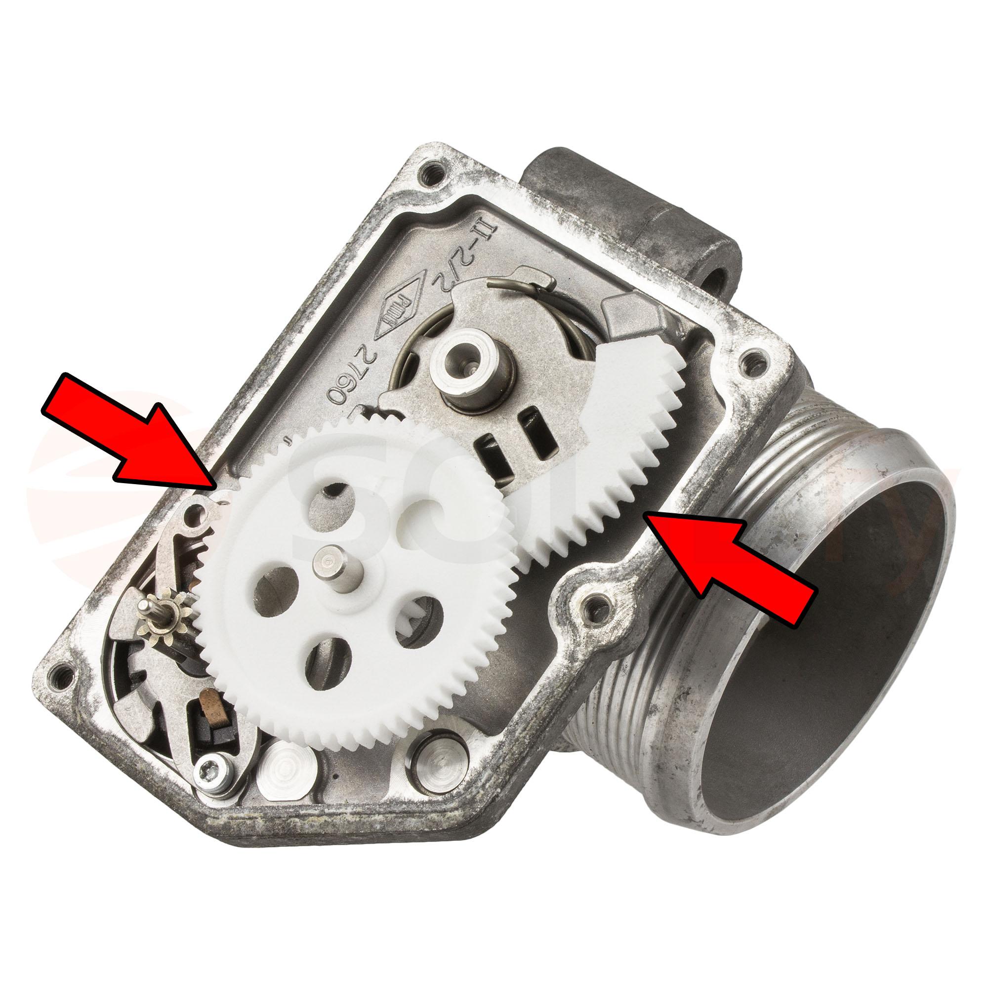 Auto Motor Einlass Diesel Swirl Flap Rohlinge Reparatursatz Mit Kr/ümmerdichtungen 6 * 22mm-Blau