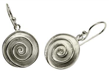 Attraktive Ohrhänger mit Spiral-Muster – Bild 3