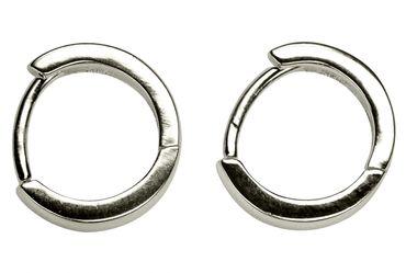 Kleine Kreis-Ohrringe im Creolen-Stil – Bild 1