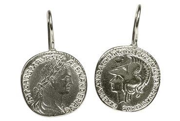 """Ausgefallene Ohrhänger """"Römische Münzen"""""""