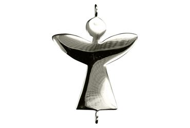 SILBERMOOS Damen Kinder Armband Engel Schutzengel Angel Glücksbringer glänzend 925 Sterling Silber – Bild 2