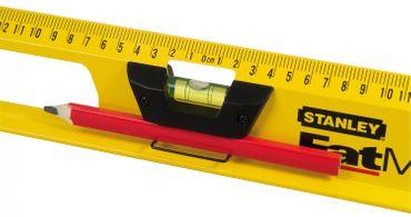 Wasserwaage Alu 60cm I-Profil – Bild 2