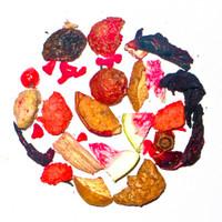 Sylter Erdbeer-Vanille-Rhabarber Früchtetee