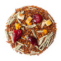 Rooibos-Tee Sylter Zitrone auf Cranberries