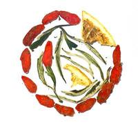 Weißer Tee Goji-Orange