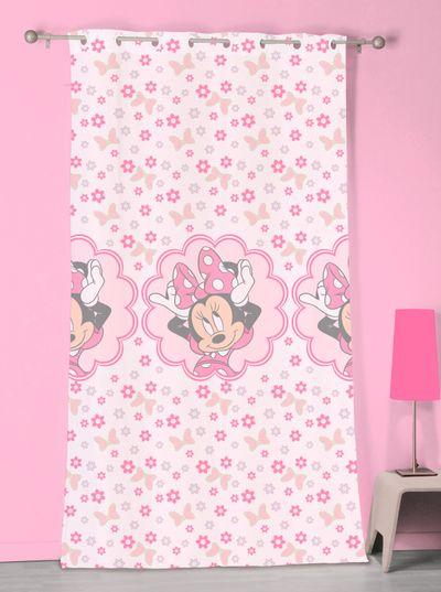 Gardine Vorhang Fertiggardine Minnie Mouse 140 x 240 cm