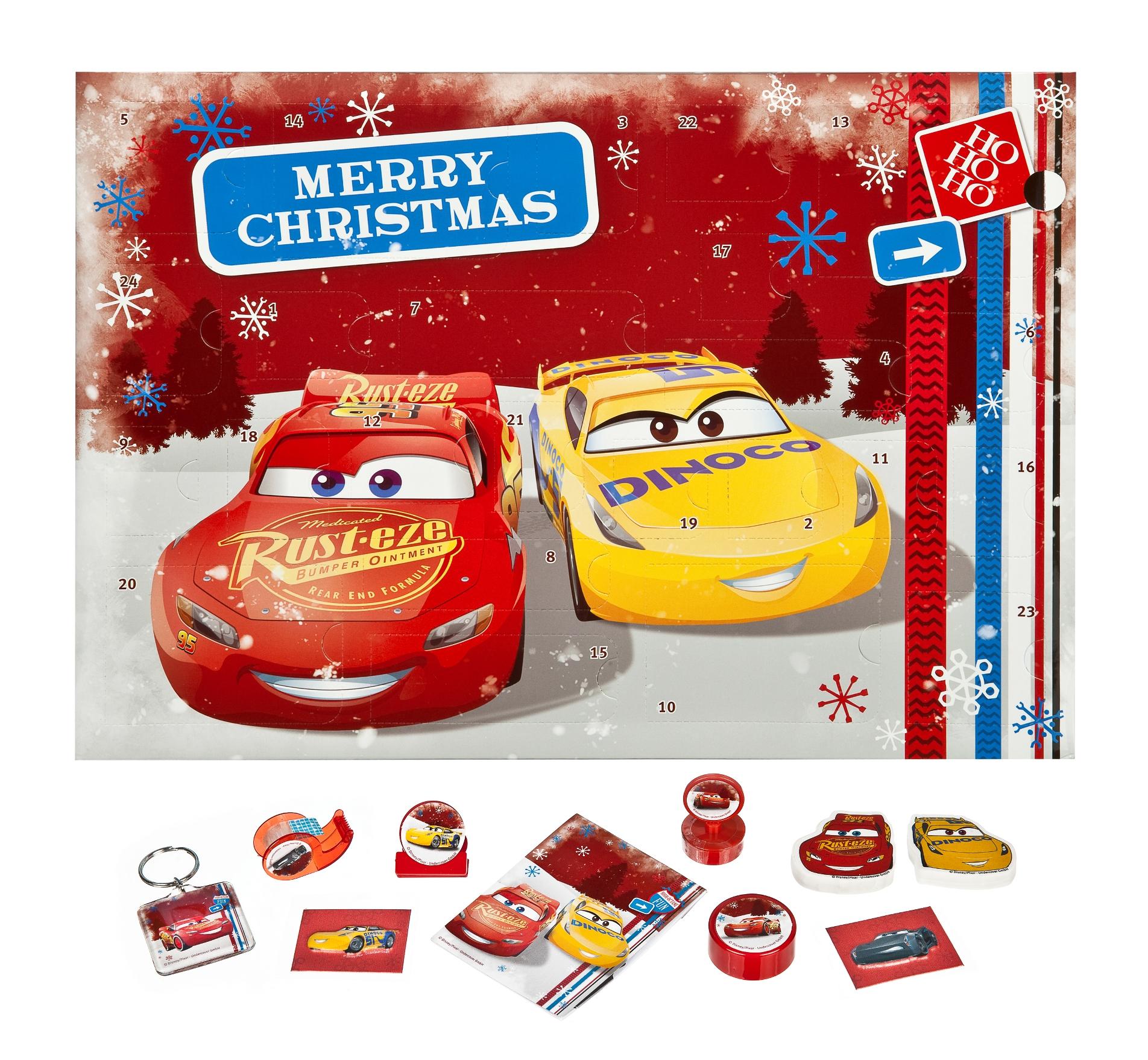 Cars Weihnachtskalender.Details Zu Adventskalender Disney Cars Weihnachtskalender Gefüllt