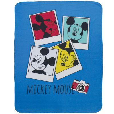 Disney Mickey Fleecedecke Kuscheldecke 110 x 140 cm