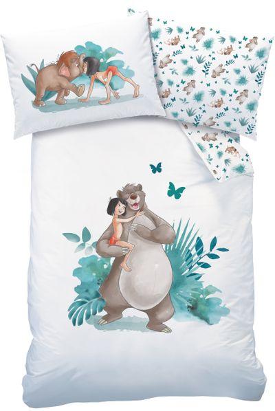 Baby Bettwäsche Jungle Book Dschungelbuch 100 x 135 cm 100% Baumwolle