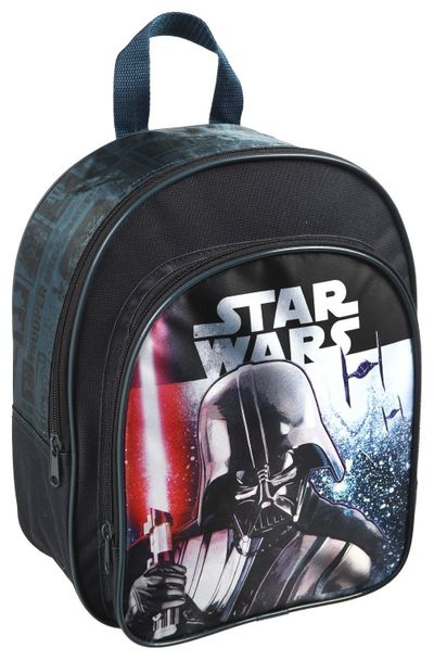 Star Wars Rucksack mit Vortasche Kinderrucksack 30 x 23 x 9 cm