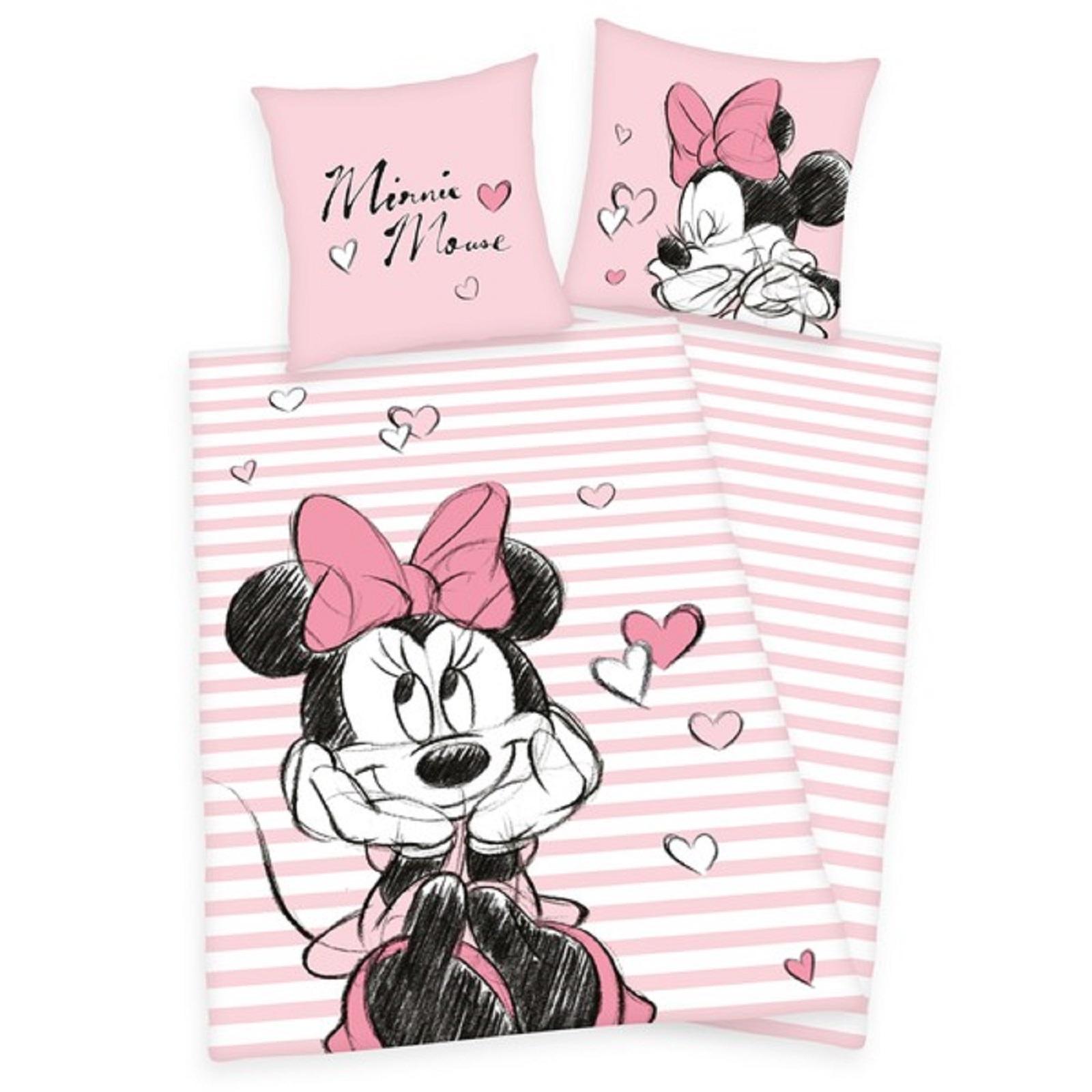 Bettwäsche Disney Minnie Mouse 70 X 90 Cm 140 X 200 Cm Ceres Webshop
