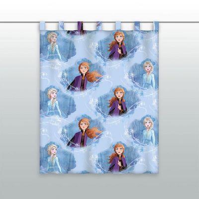Gardine Vorhang Fertiggardine Frozen 2 Elsa Anna 140 x 175 cm