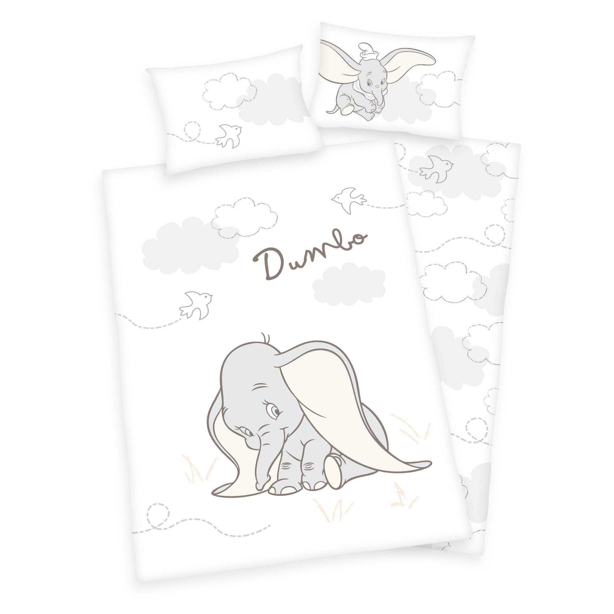 Juego de ropa de cama reversible de Disney Baby 101 D/álmata y estrellas 100 x 135 cm