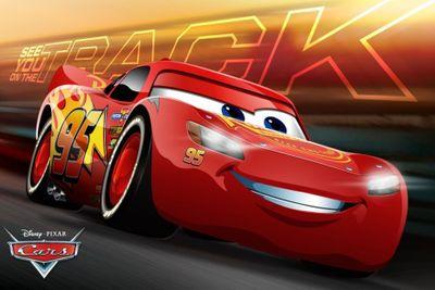 Disney Cars Duschvorleger Badematte 60 x 40 cm