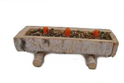 XXL Futtertrog & XXL Sandbad für Meerschweinchen und Kaninchen