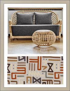 ICONS | Charlottenborg Sofa, Bezugsstoff Mulberry Home