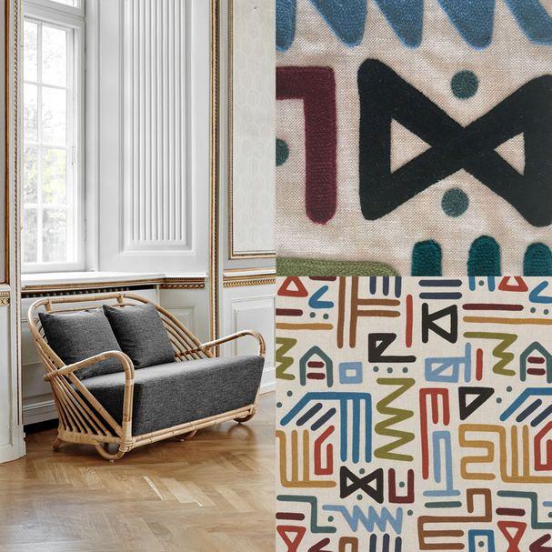 ICONS | Charlottenborg Sofa, Bezugsstoff Mulberry Home – Bild $_i