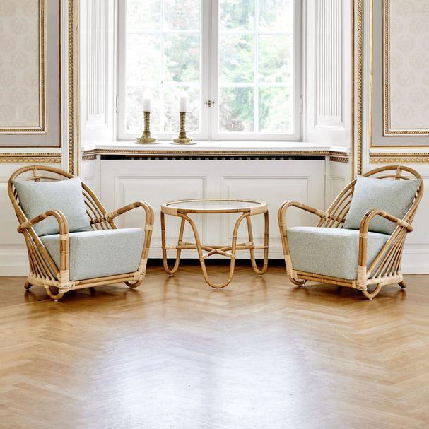 ICONS | Charlottenborg Sessel, Bezugsstoff James Malone – Bild $_i