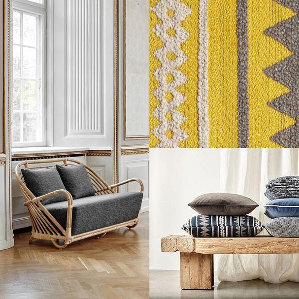 ICONS | Charlottenborg Sofa, Bezugsstoff James Malone – Bild $_i
