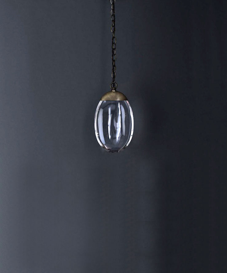 CELESTIAL PEBBLE | Chandelier linear 3