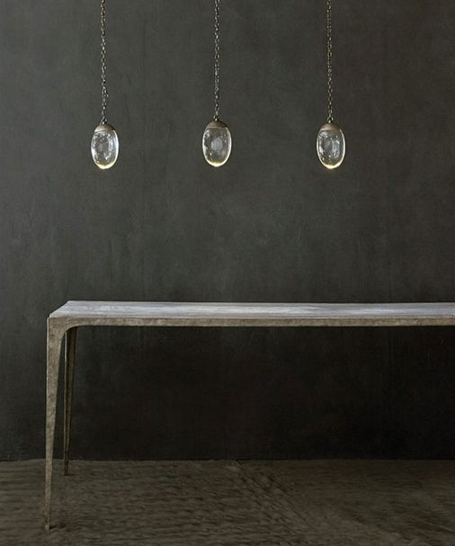 CELESTIAL PEBBLE | Chandelier linear 3 – Bild $_i
