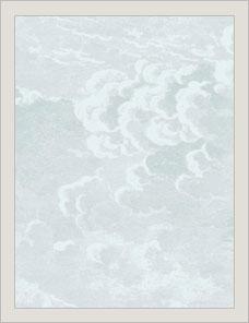 FORNASETTI SENZA TEMPO | Nuvolette Tapete 2 Rollen