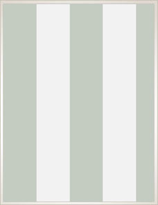 MARQUEE STRIPES | Glastonbury Stripe Tapete, light green