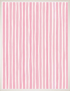 MARQUEE STRIPES | Croquet Stripe, pink