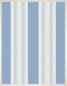 MARQUEE STRIPES | Polo Stripe, blue