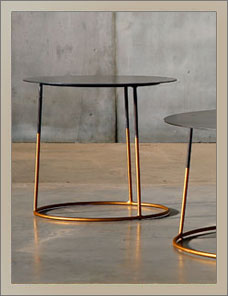 MESA | Nimbus Metal Sidetable