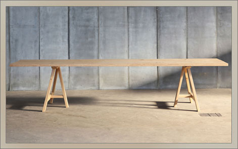 TRESTLE | Solid Oak, Made to Measure
