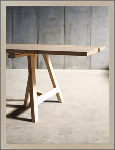 TRESTLE | Solid Oak, Basis